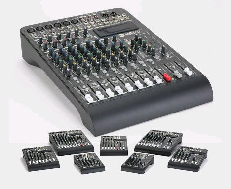 Conheça a série LivePad da RCF