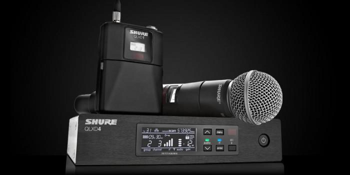 Shure QLX-D – Novo sistema digital de transmissão sem fio