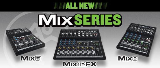 Mix Series – A nova linha de mesas da Mackie