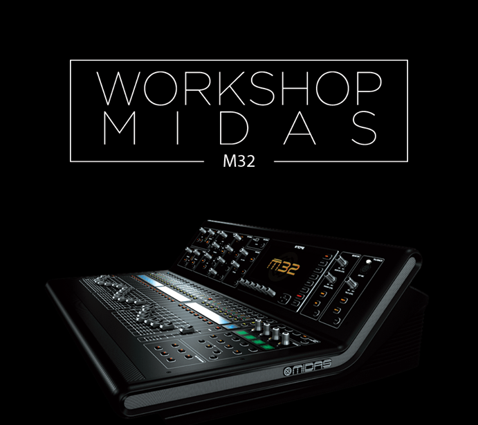 Workshop Midas M32