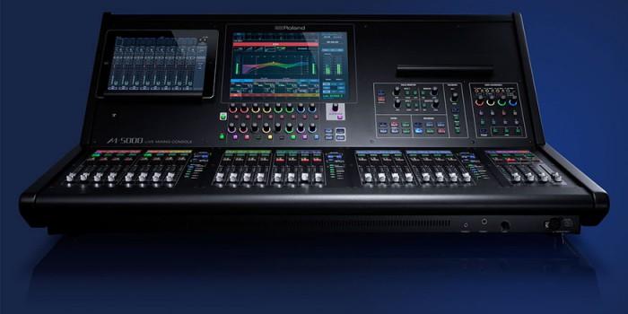 Lançamento – Mixer Roland M-5000