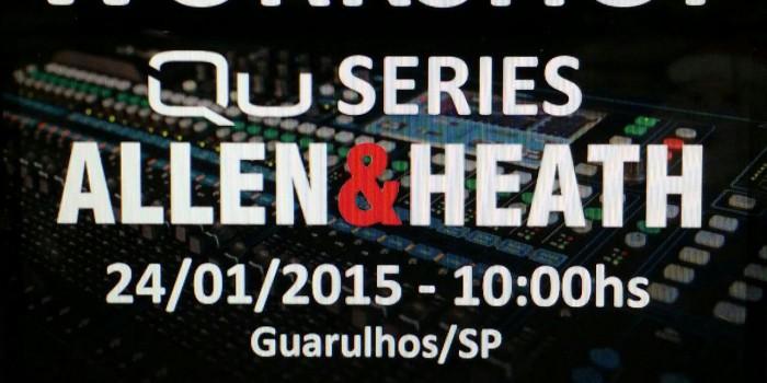 Workshop – Allen & Heath QU-Series