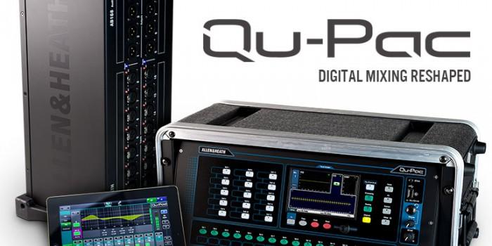 Namm 2015 – Allen & Heath lança novo console e amplia linha QU-Series