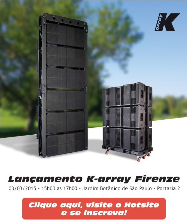 Lançamento – K-array Firenze