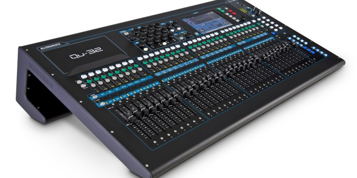 Teste – Mesa Allen & Heath QU