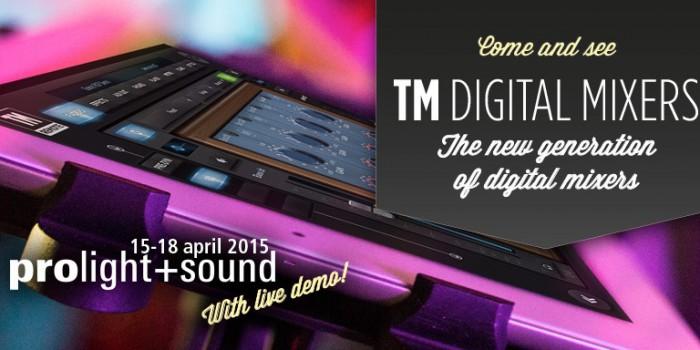 Lançamento – RCF TM Digital Mixer