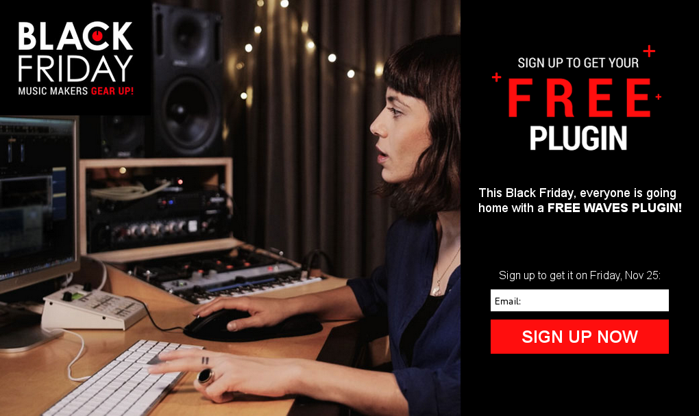 Plugin Waves gratuito na Black Friday 2016